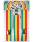 Hippie bretels rood geel groen