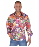 Hippie carnavals blouses heren fun