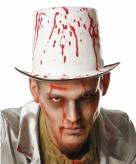 Hoge hoeden met bloedspetters