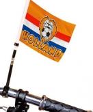 Holland fietsvlag met voetbal
