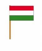 Hongarije zwaaivlaggetjes