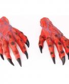 Horror handen rood