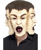Horror maskers met 3 gezichten
