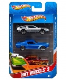 Hot wheels race autos 3 stuks