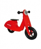 Houten loopscooters rood