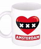 I love amsterdam mok beker 300 ml