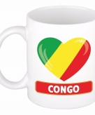 I love congo mok beker 300 ml