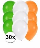 Ierse ballonnen pakket 30x