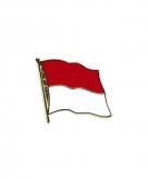Indonesische vlag broche