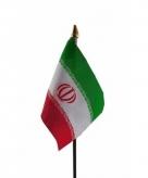 Iran vlaggetje polyester