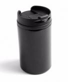 Isoleerbeker rvs metallic zwart 320 ml