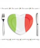 Italiaanse placemats van papier 500 stuks