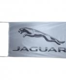 Jaguar vlag wit 150 x 90 cm