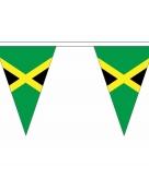 Jamaicaanse vlaggenlijn van stof 5 m