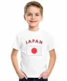 Japanse vlag t-shirts voor kinderen