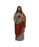 Jezus christus hart beeldje 20 cm