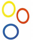 Jongleer jongleren ringen 3 stuks 24 cm