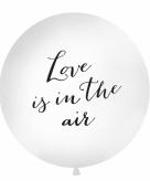 Jumbo ballon love is in the air