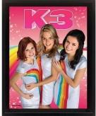 K3 regenboog poster posters 23 x 28 x 5 cm