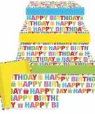 Kado doosjes happy birthday 31 cm
