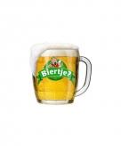 Kartonnen poster biertje