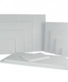Katoenen schildersdoek 30 x 30 cm