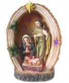 Kerstbeeld heilige familie 15 cm