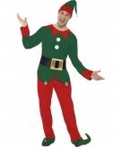 Kerstelf pak voor mannen