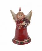 Kersthanger kerst engeltje 8 cm