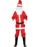 Kerstmannenpak voor kinderen