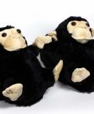 Kinder dieren pantoffels aap