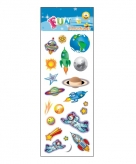 Kinder space stickers
