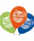 Kinderfeest clowns ballonnen 5 stuks