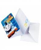Kinderfeest uitnodigingen thomas de trein
