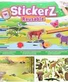 Kinderkamer stickers met wilde dieren