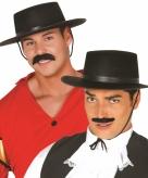 Klassieke spaanse hoed zwart voor heren