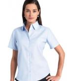 Kleding dames blouse oxford grote maten