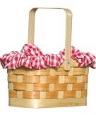 Klein picknick mandje