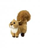 Knuffel eekhoorn 18 cm