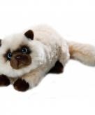 Knuffel kat perzische colourpoint van 30 cm