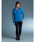 Kobalt blauw dames overhemd