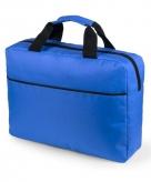 Kobalt blauwe documenten tas 38 cm