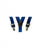 Kobaltblauwe bretels voor jongens