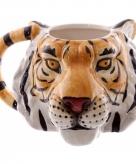 Koffie beker tijger 400 ml