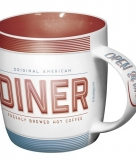 Koffiebeker american diner 33 cl