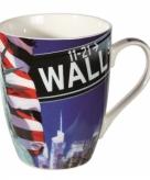 Koffiemok new york wall street