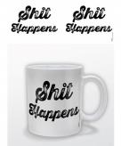 Koffiemok shit happens