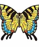 Koninginnepage vlinder speel vlieger 70 x 48 cm