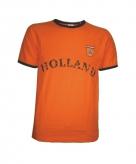 Koningsdag holland shirt oranje met de tekst holland