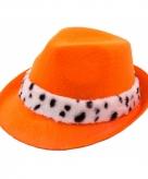 Koninklijke tribly hoed oranje